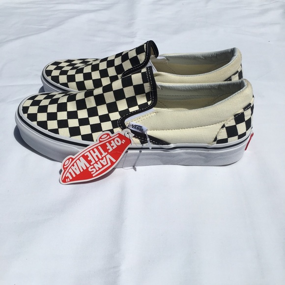 Vans Shoes | Slip On Mens Size 7 Womens